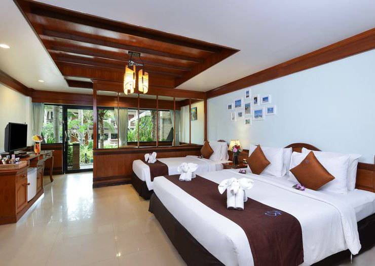 TRIPLE ROOMS Phangan Bayshore Resort & Spa Surat Thani, Koh Phangan