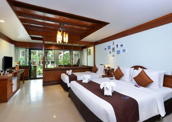 Triple room Phangan Bayshore Resort & Spa Surat Thani, Koh Phangan
