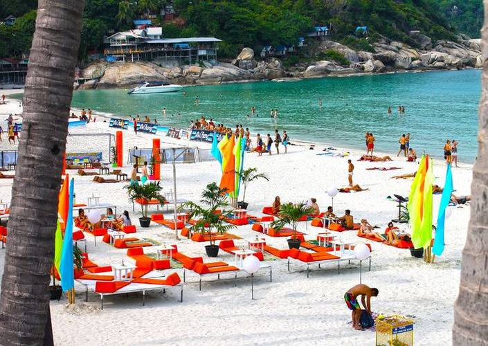 Cilling beach club Phangan Bayshore Resort & Spa Surat Thani, Koh Phangan