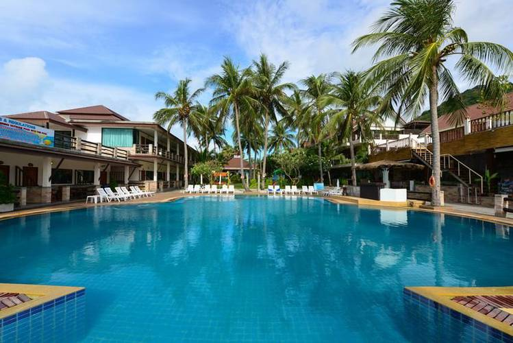 Outdoor swimming pool Phangan Bayshore Resort & Spa Surat Thani, Koh Phangan