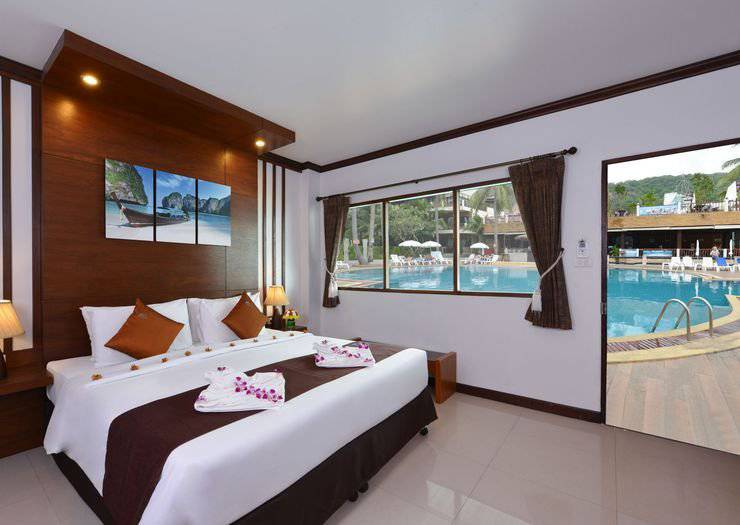 SUPERIOR POOLSIDE ROOMS Phangan Bayshore Resort & Spa Surat Thani, Koh Phangan
